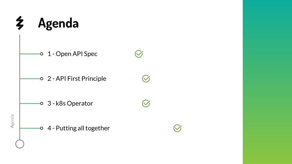 1 - Open API Spec 4 - Putting all together 3 - ...