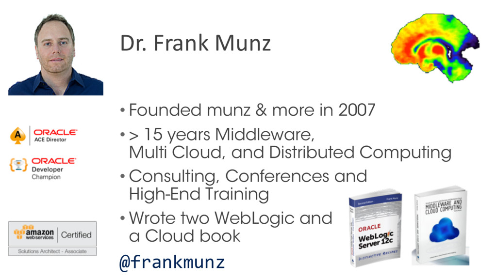 • Founded munz & more in 2007 • > 15 years Midd...