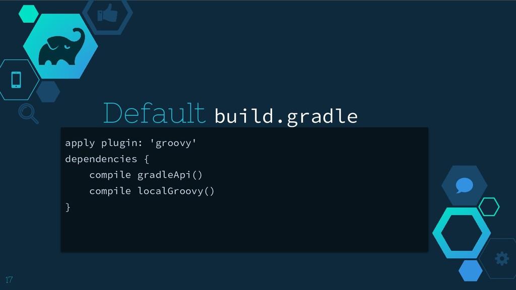 apply plugin: 'groovy' dependencies { compile g...