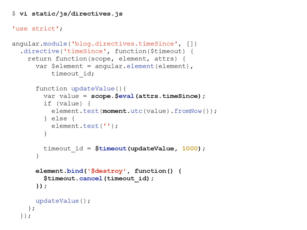 $ vi static/js/directives.js 'use strict'; angu...