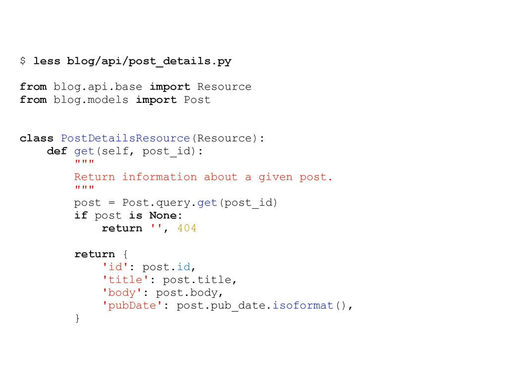 $ less blog/api/post_details.py from blog.api.b...