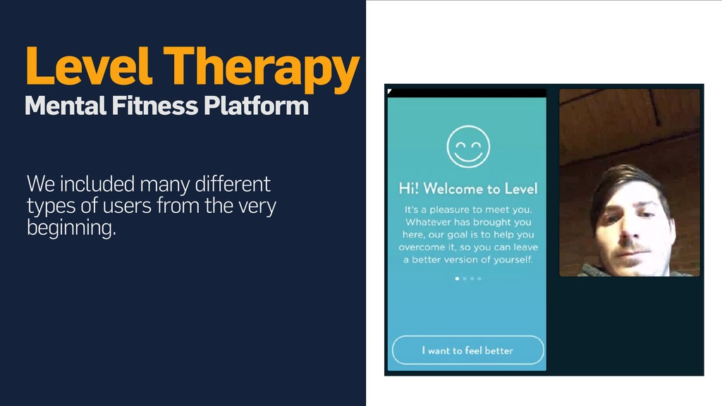 Level Therapy Mental Fitness Platform We inclu...