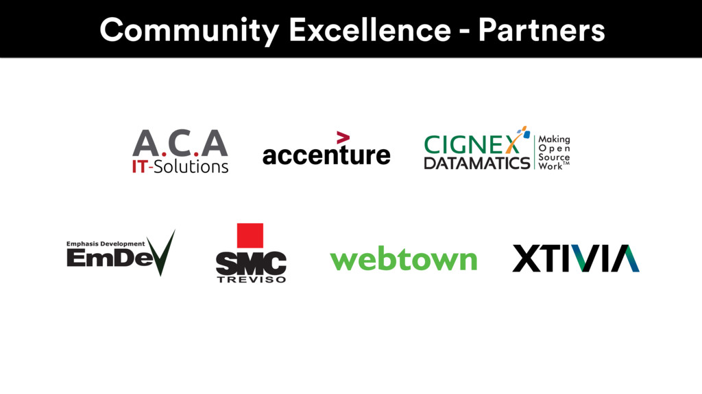Community Excellence - Partners