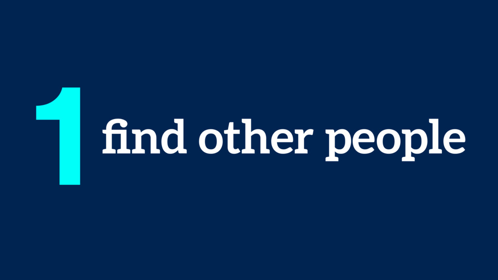 find other people 1