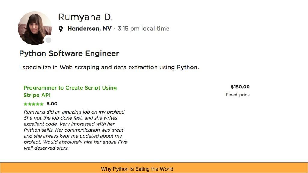 Jason Bierbrauer: Beginner to freelance Python ...