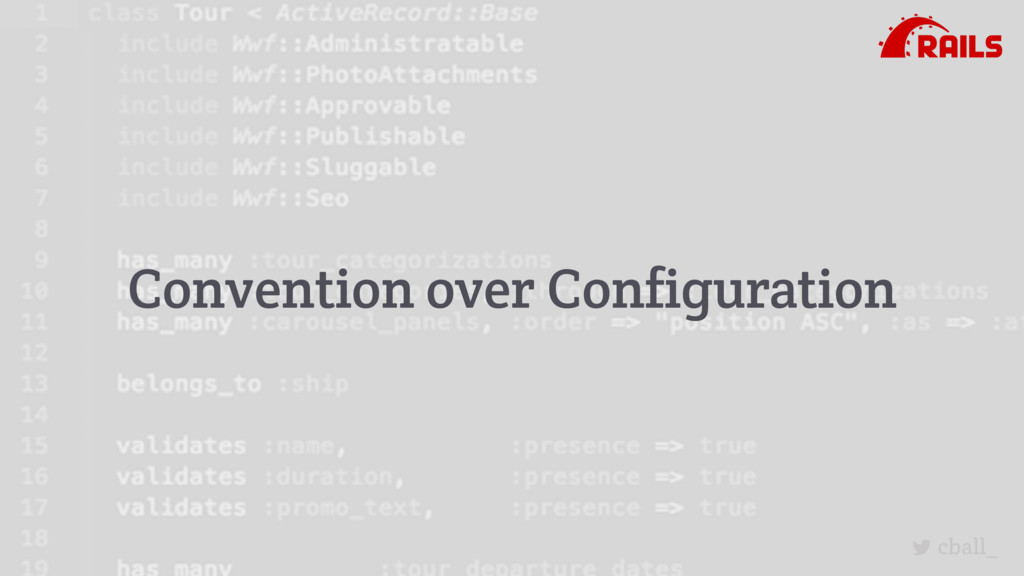cball_ Convention over Configuration
