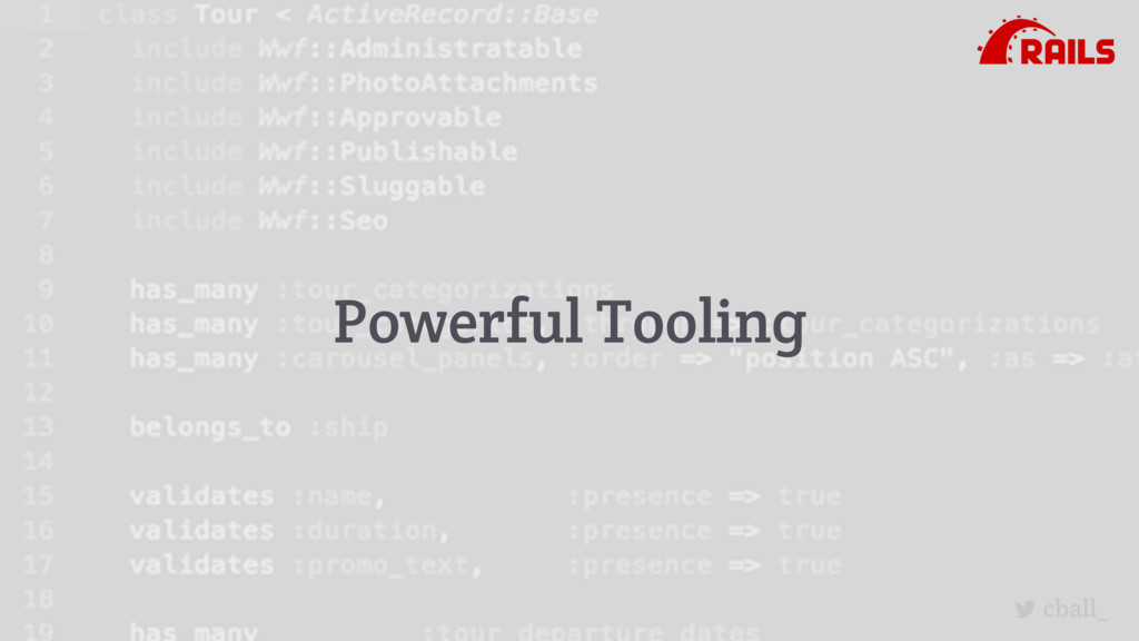 cball_ Powerful Tooling