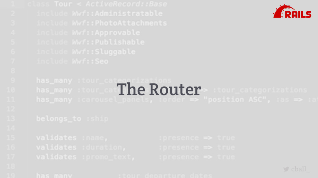 cball_ The Router