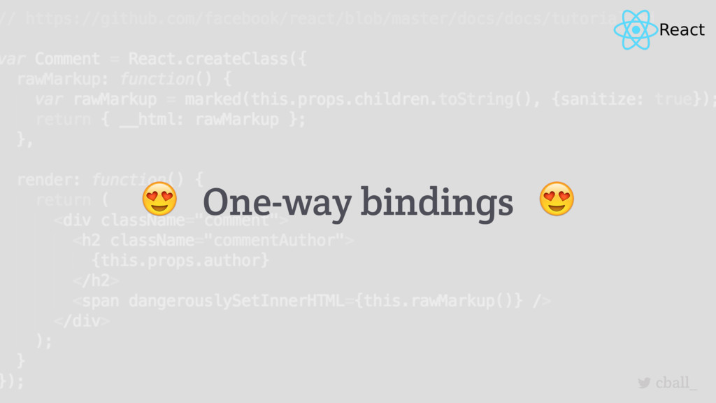 cball_  One-way bindings