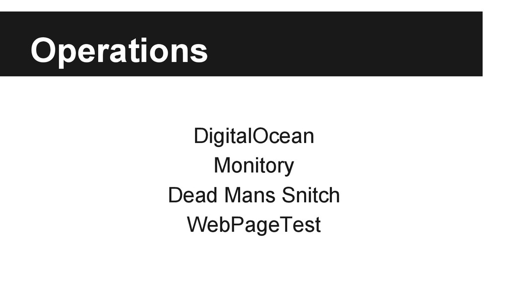 Operations DigitalOcean Monitory Dead Mans Snit...