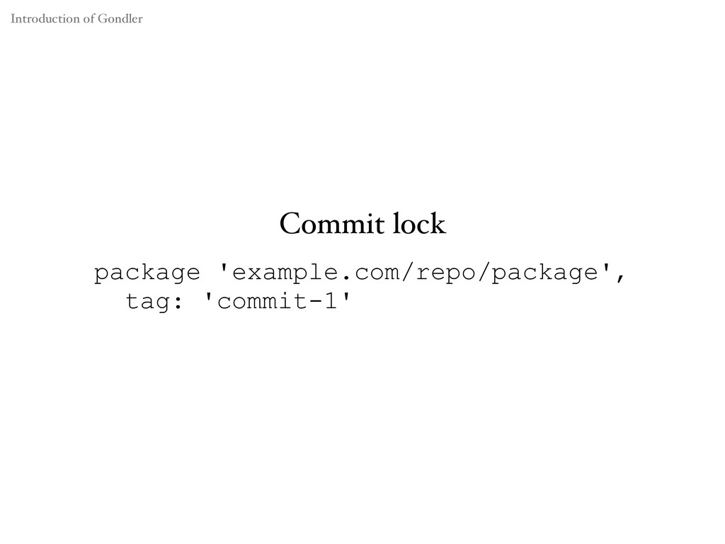 Commit lock package 'example.com/repo/package',...