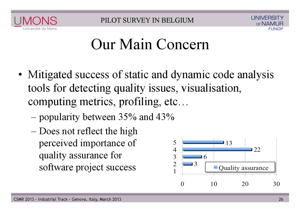Our Main Concern • Mitigated success of static...
