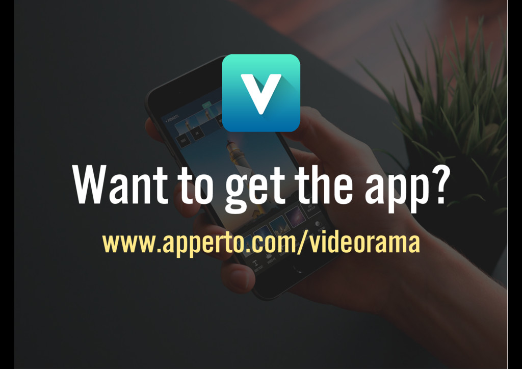 Want to get the app? www.apperto.com/videorama