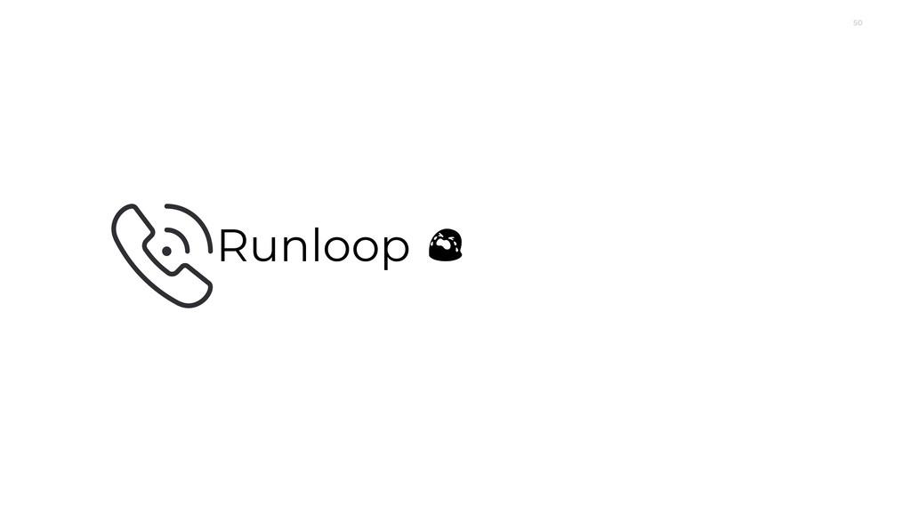 50 Runloop