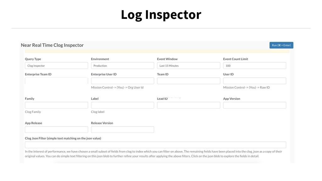 Log Inspector