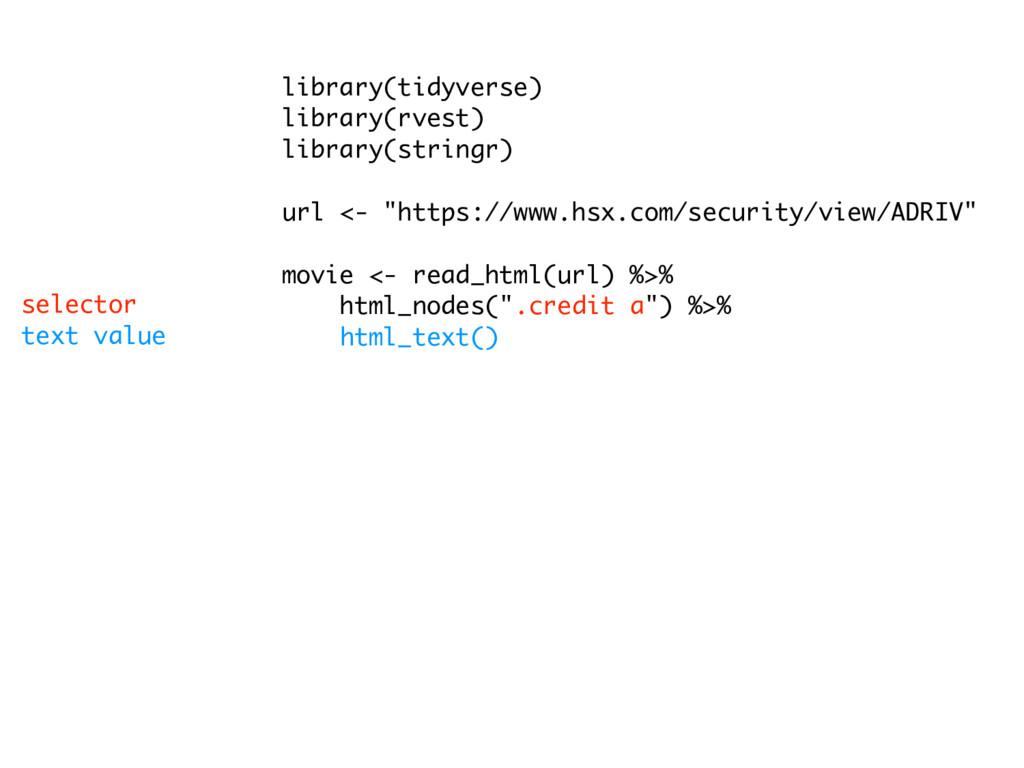 library(tidyverse) library(rvest) library(strin...