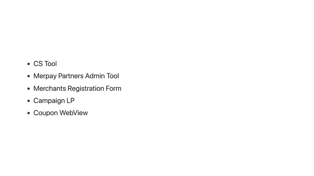 CS Tool Merpay Partners Admin Tool Merchants Re...