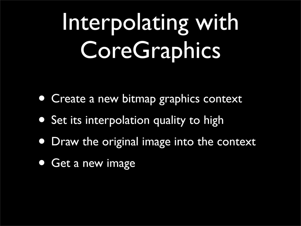 Interpolating with CoreGraphics • Create a new ...