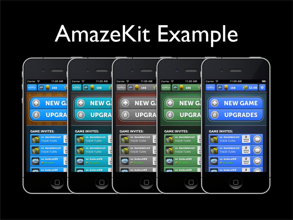 AmazeKit Example