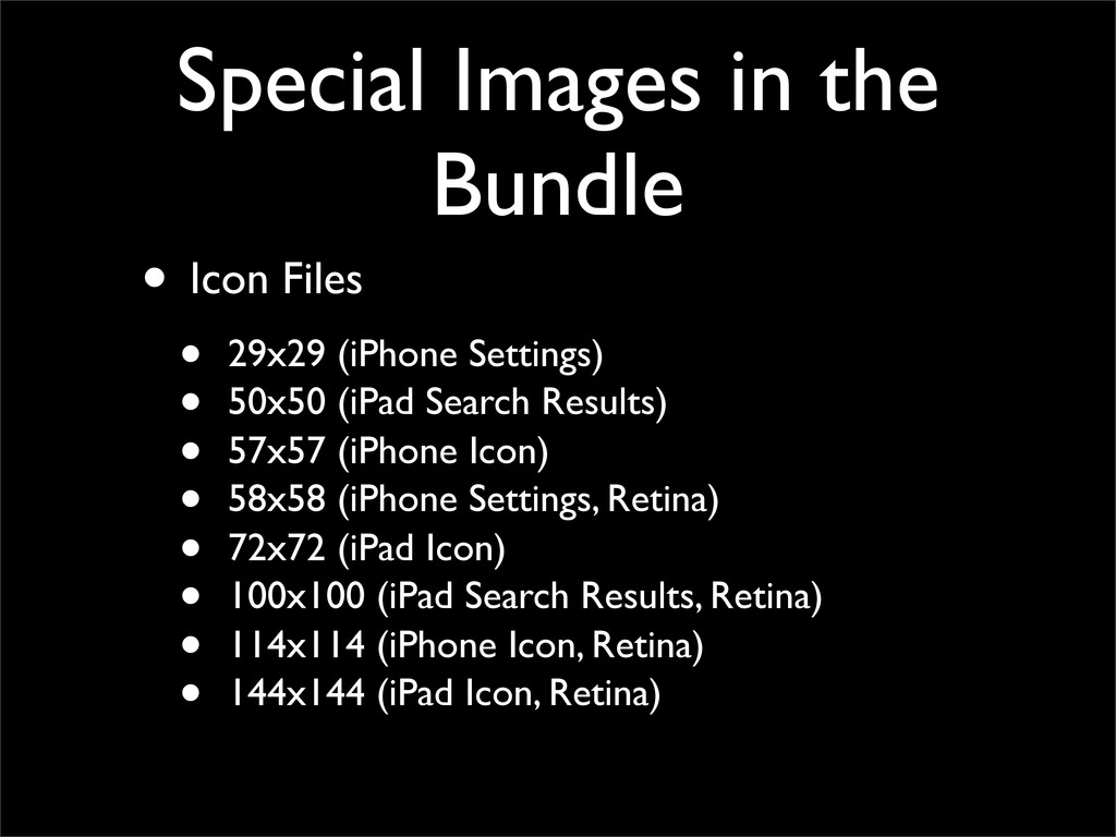 Special Images in the Bundle • Icon Files • 29x...