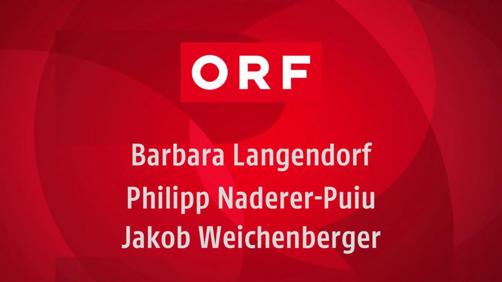 Barbara Langendorf Philipp Naderer-Puiu Jakob W...