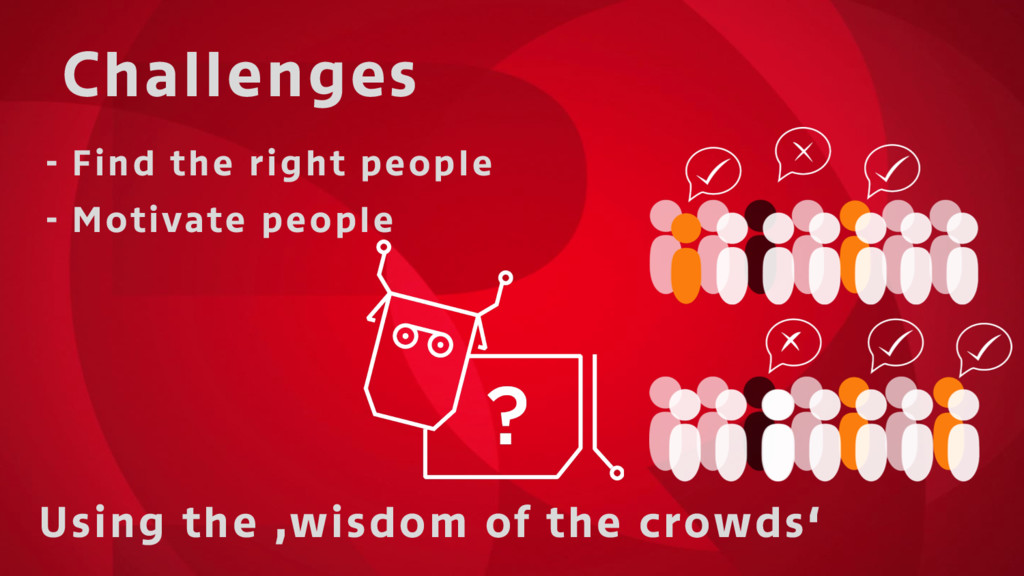 Challenges Using the 'wisdom of the crowds' - F...