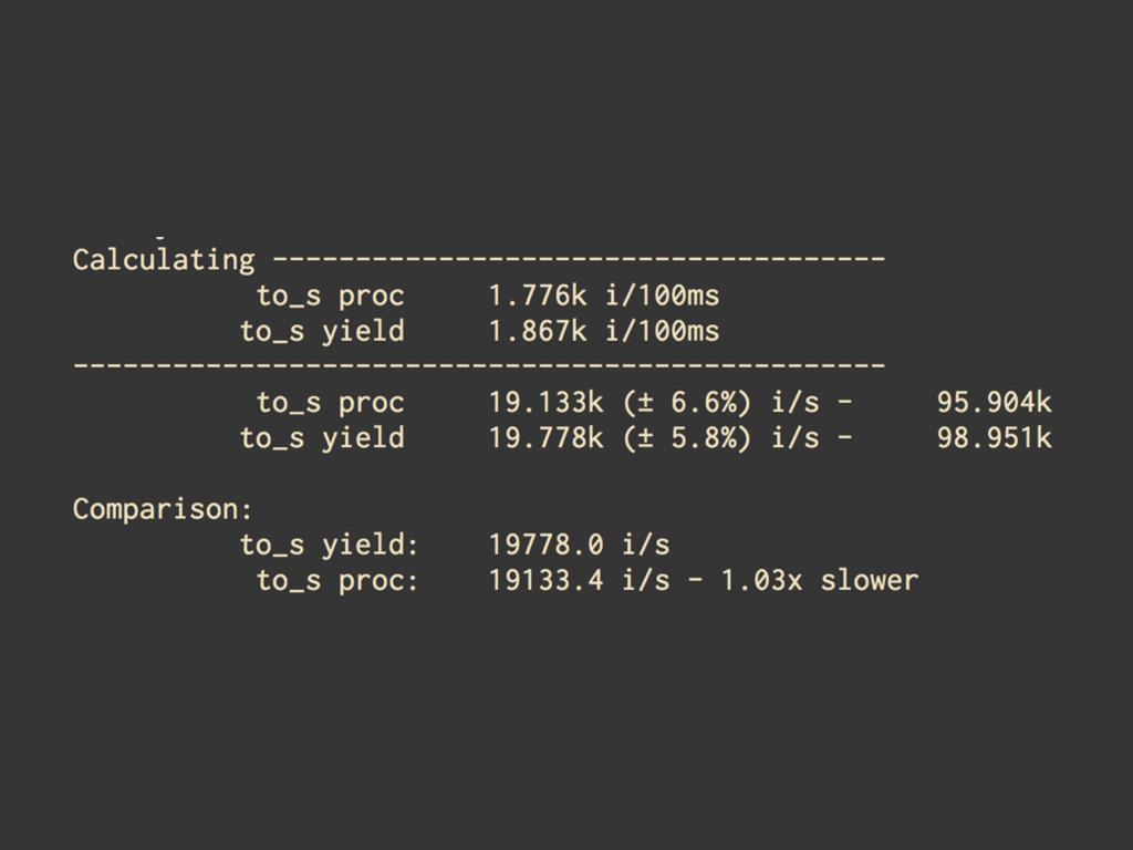 slow 47524.3 (± 7.6%) i/s fast 56823.2 (± 7.2%)...