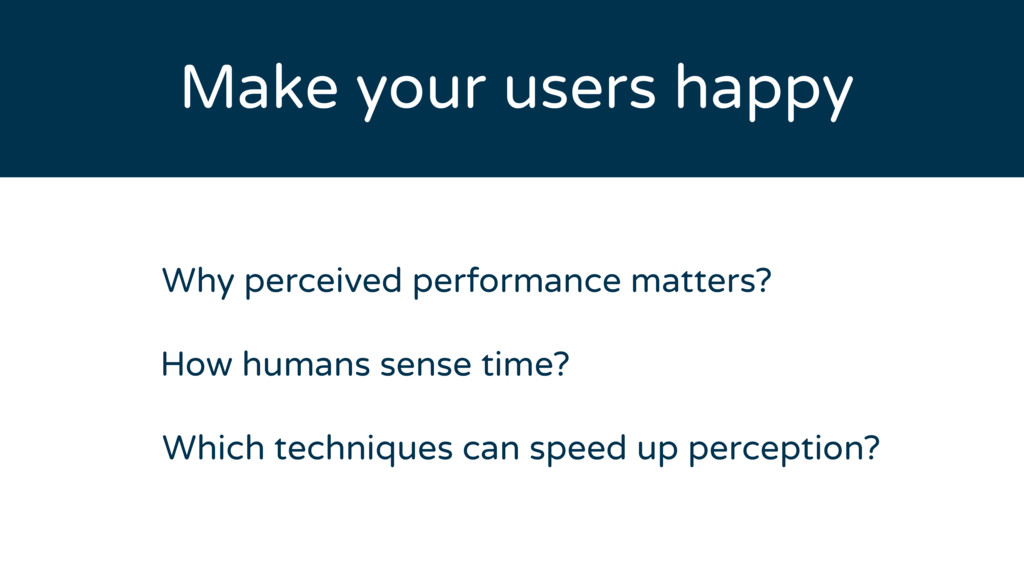 How humans sense time? Why perceived performanc...