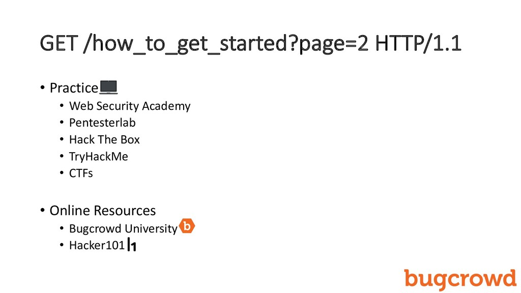 GET /how_to_get_started?page=2 HTTP/1.1 • Pract...