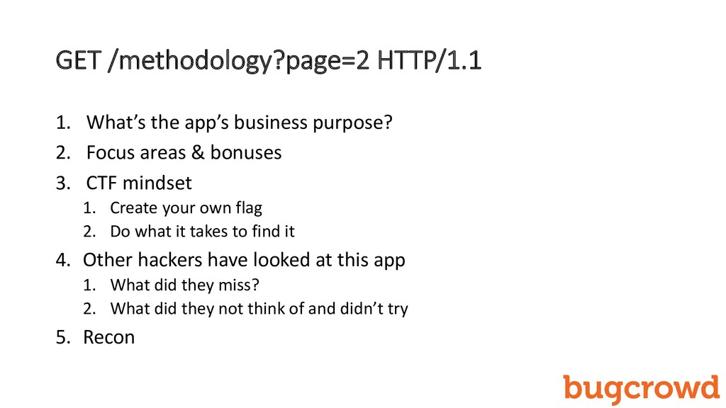 GET /methodology?page=2 HTTP/1.1 1. What's the ...