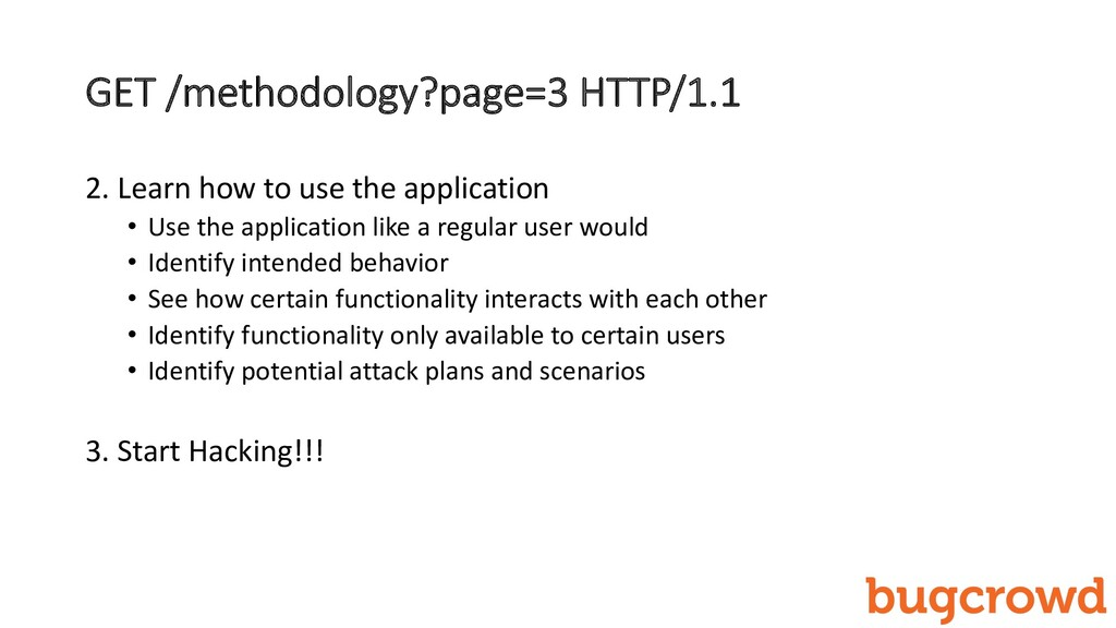 GET /methodology?page=3 HTTP/1.1 2. Learn how t...