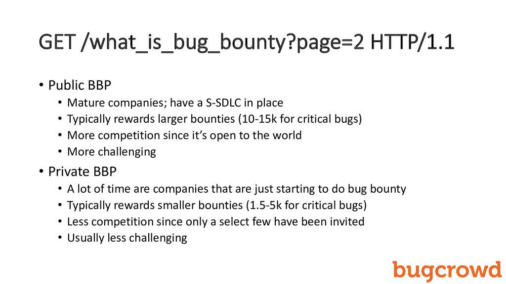 GET /what_is_bug_bounty?page=2 HTTP/1.1 • Publi...