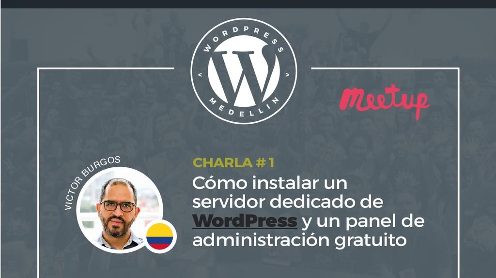 Cómo instalar un servidor dedicado de WordPress...