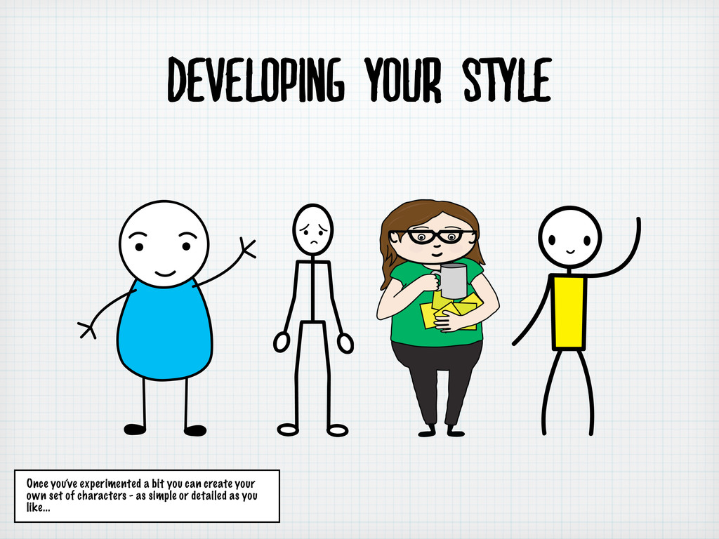 developing your style Once you've experimented ...