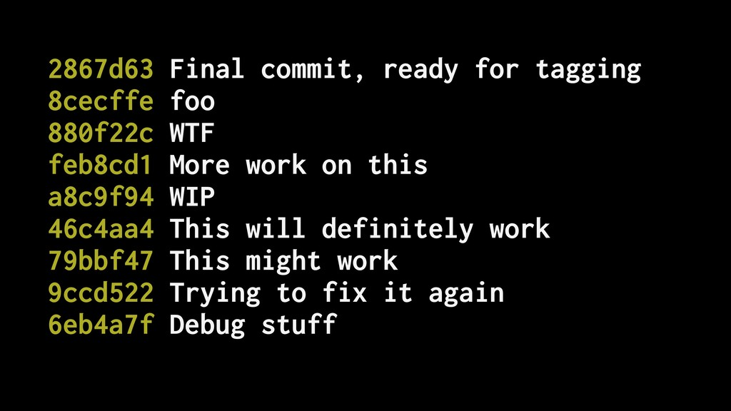 2867d63 Final commit, ready for tagging 8cecffe...
