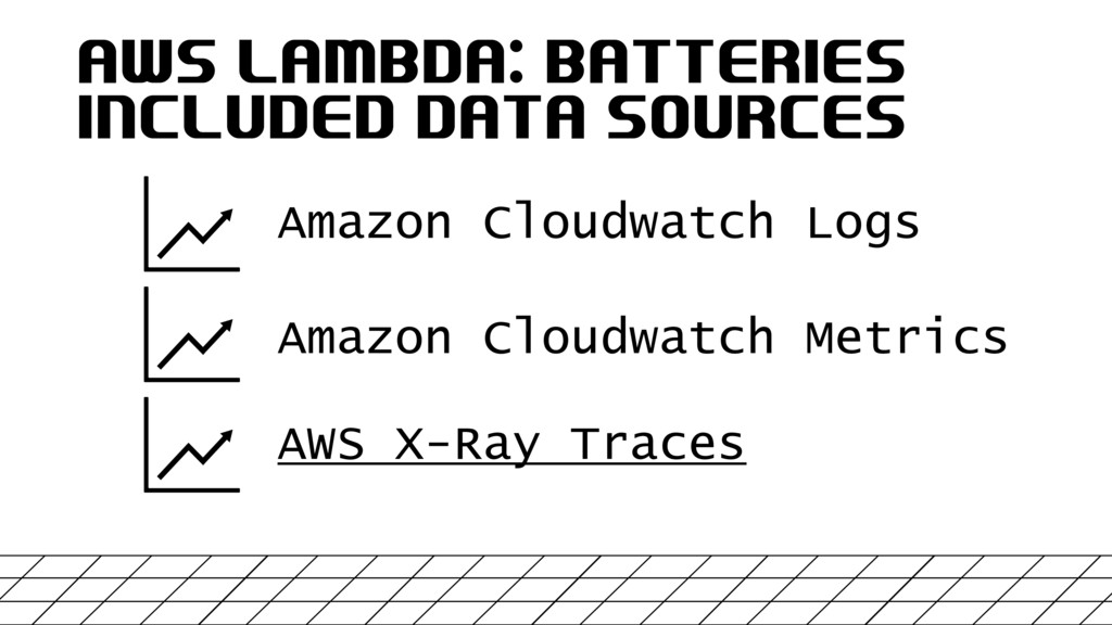 AWS LAMBDA: BATTERIES INCLUDED DATA SOURCES Ama...