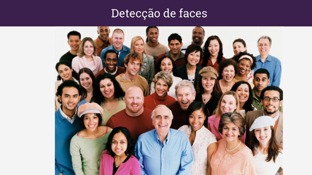 Detecção de faces