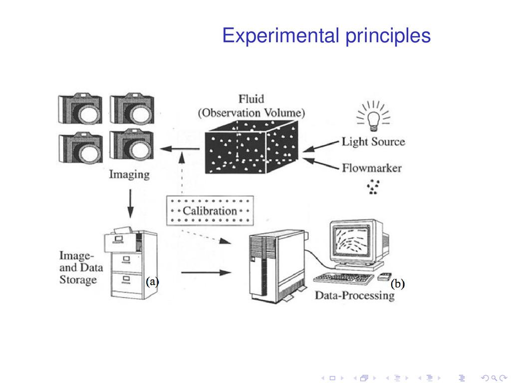 Experimental principles . . . . . .
