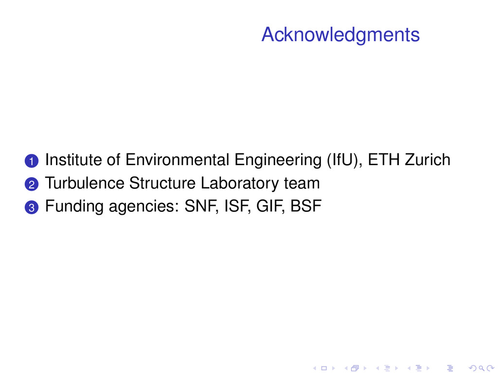 Acknowledgments . . 1 Institute of Environmenta...