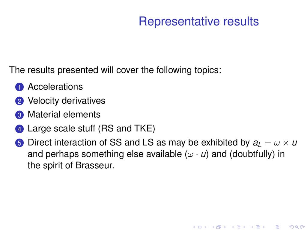 Representative results The results presented wi...