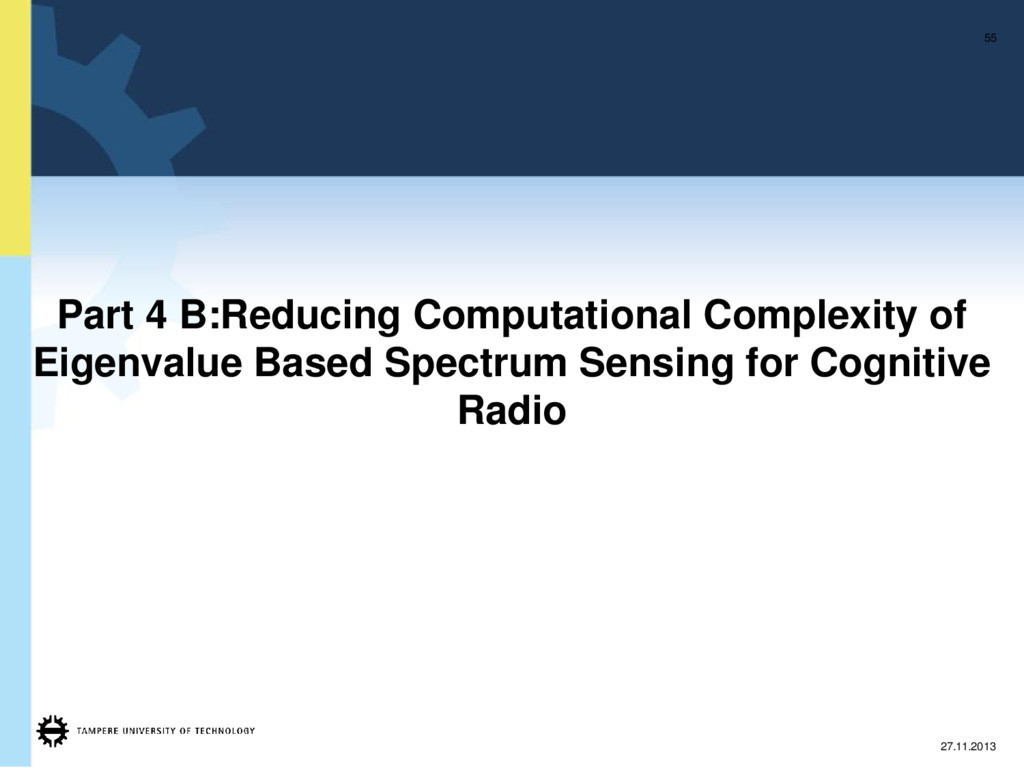 Part 4 B:Reducing Computational Complexity of E...