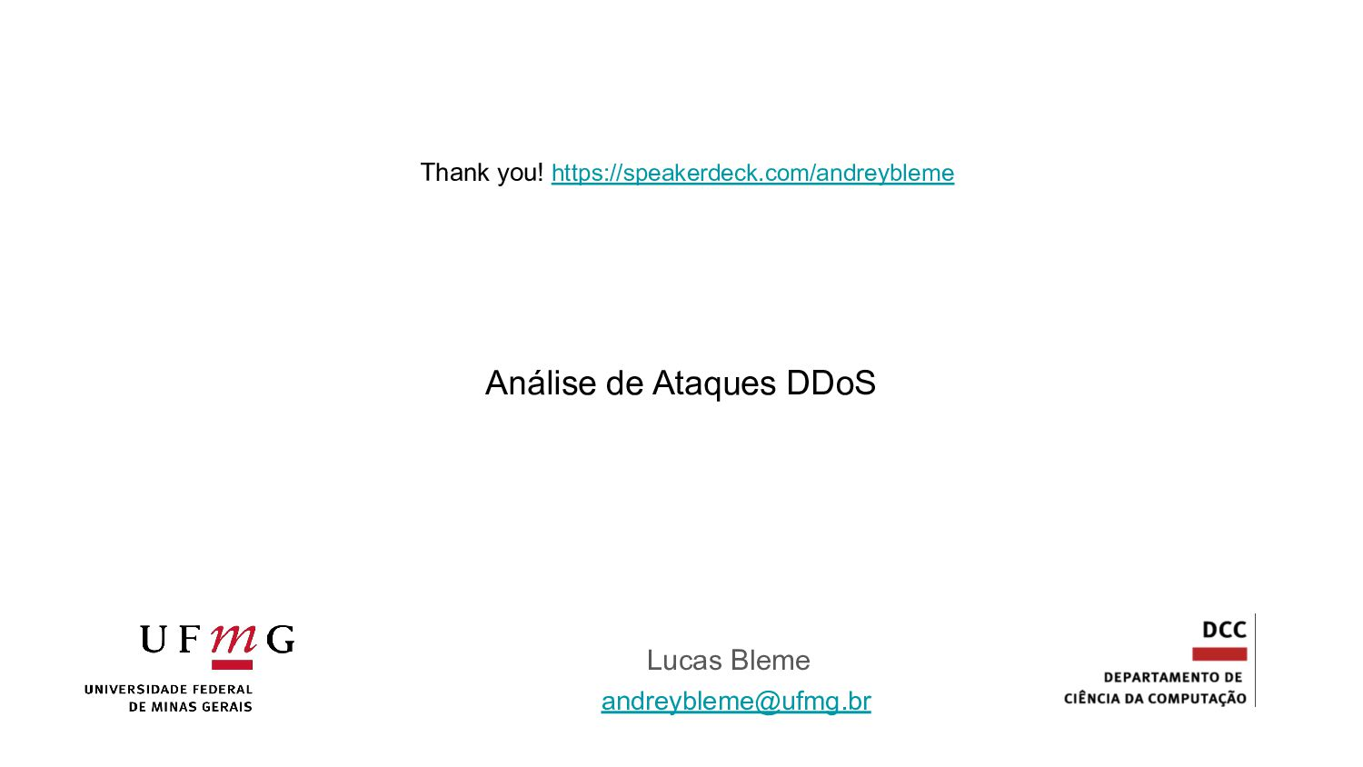 Thank you! Questions? andreybleme1@gmail.com ht...