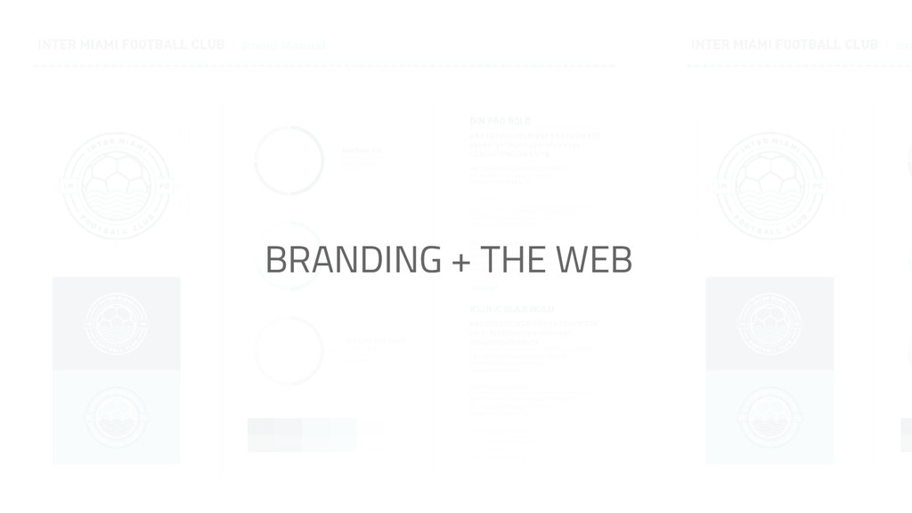 BRANDING + THE WEB
