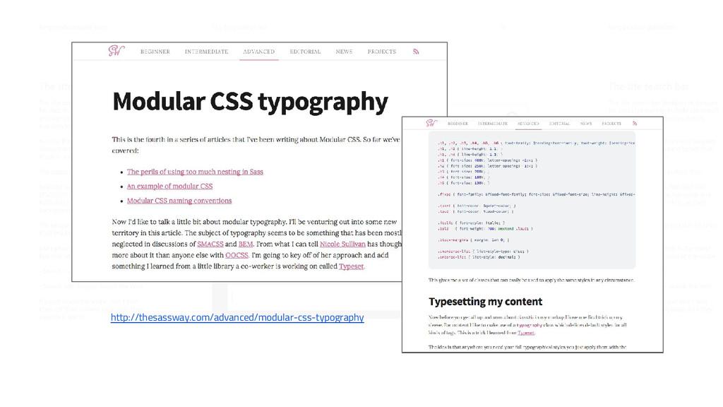 http://thesassway.com/advanced/modular-css-typo...