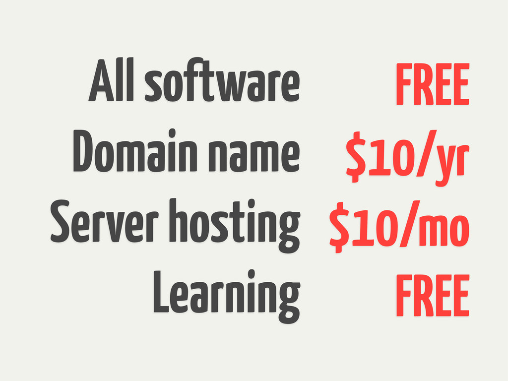 All software Domain name Server hosting Learnin...