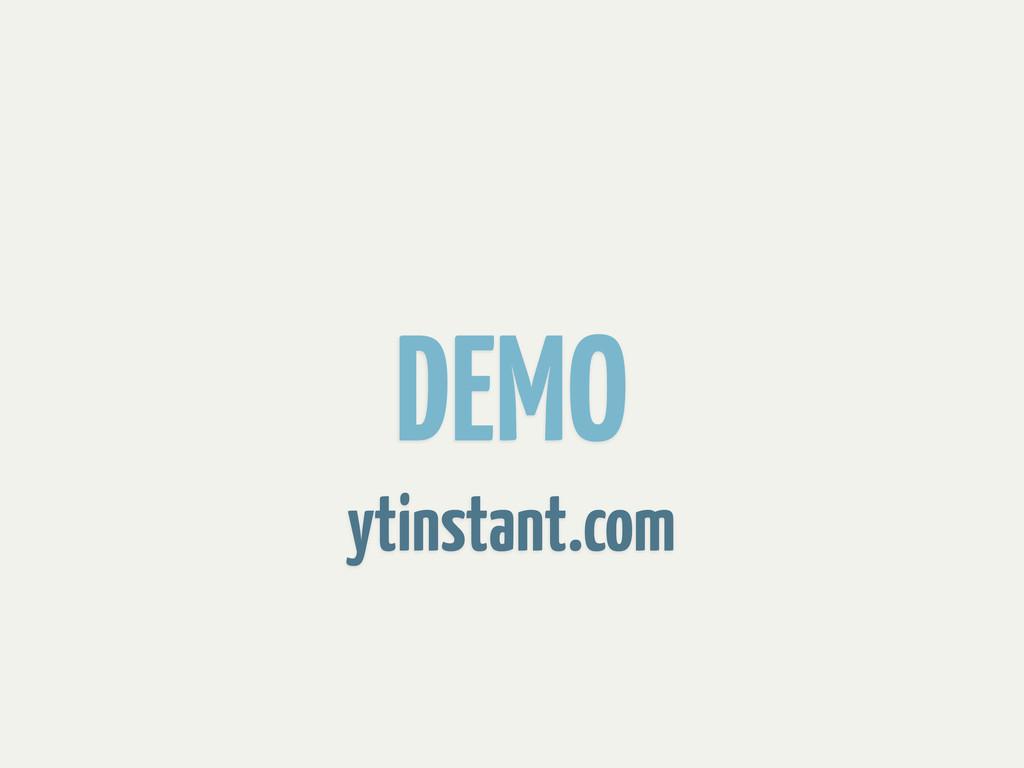 DEMO ytinstant.com
