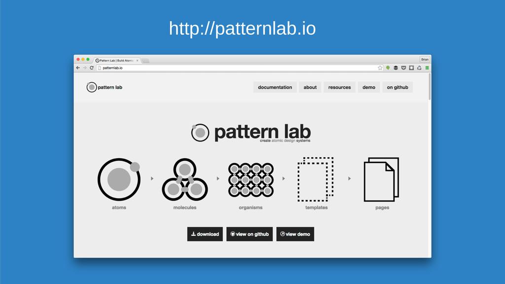 http://patternlab.io