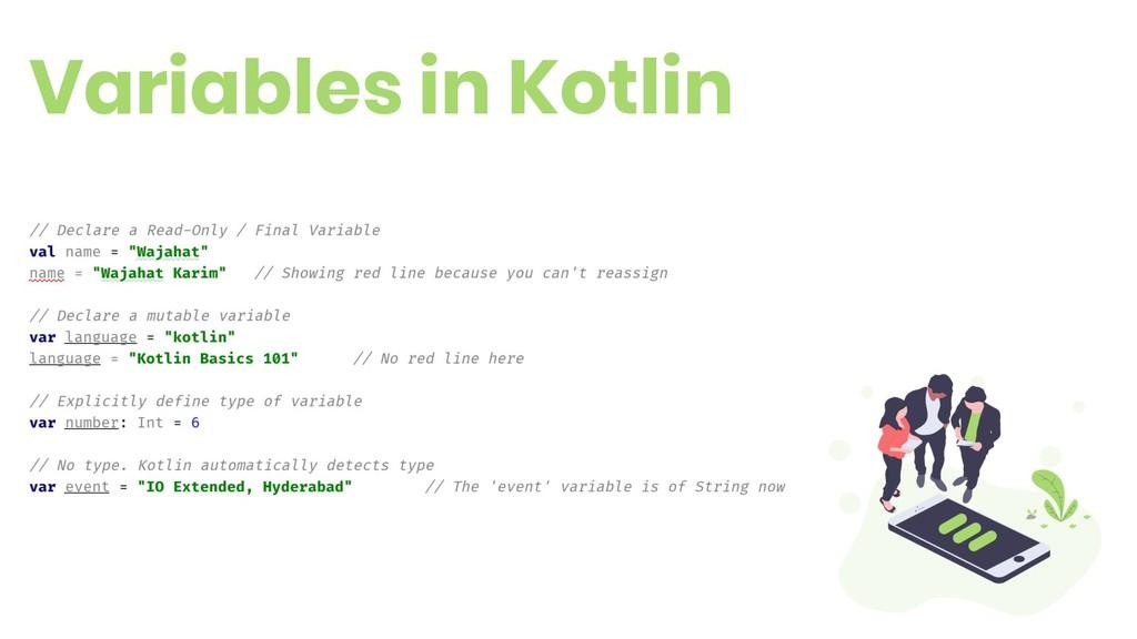 Variables in Kotlin 6