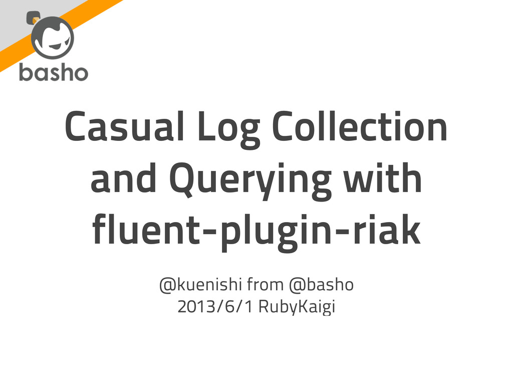 Casual Log Collection and Querying with fluent-...