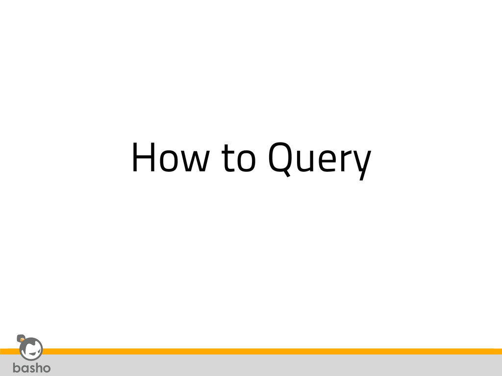 How to Query